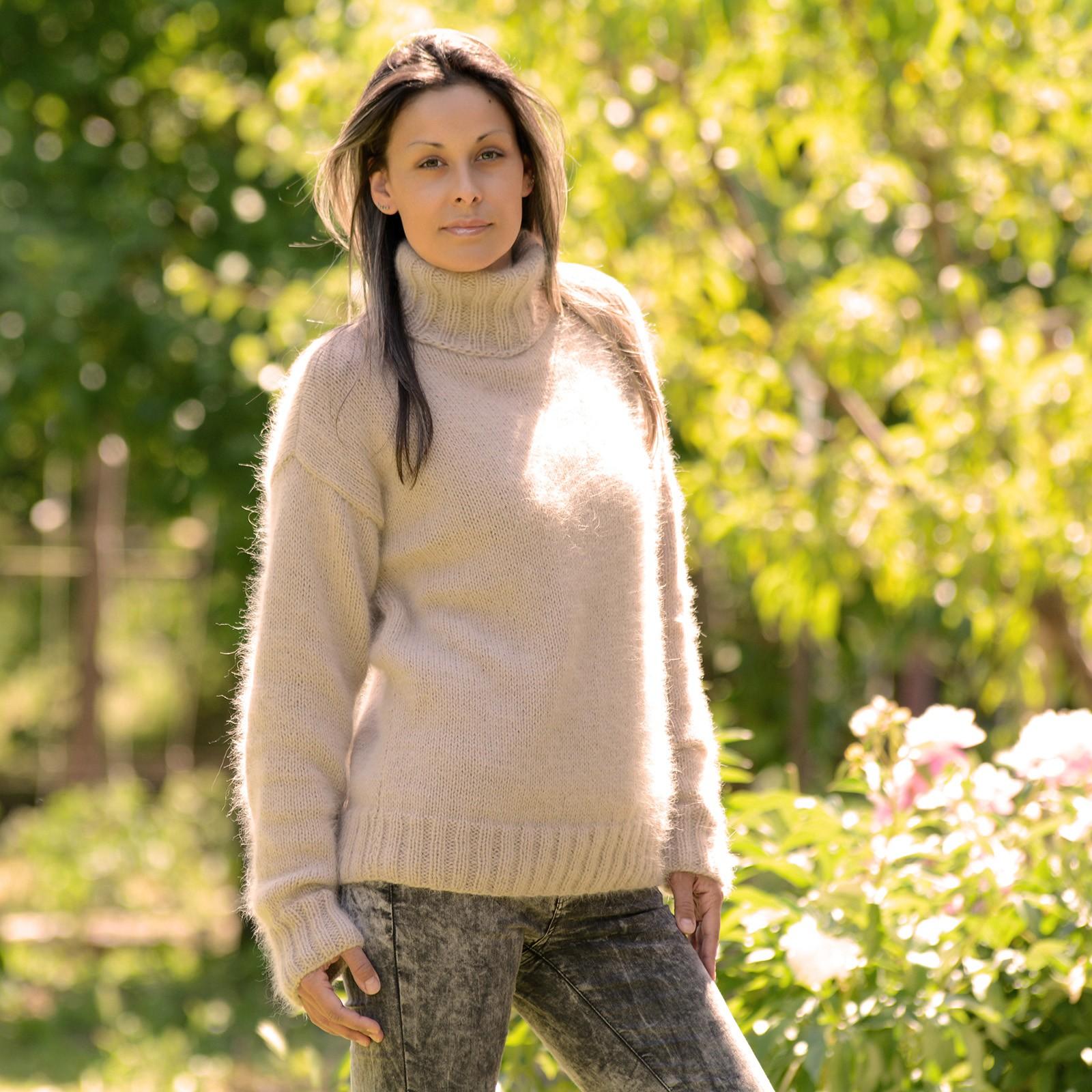 Extravagantza`s hand knit angora sweaters - Hand knitted mohair ...